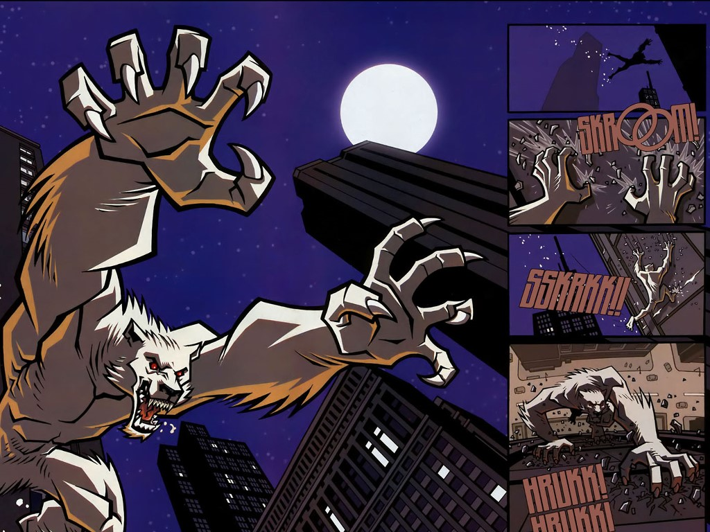 Comics Wallpaper: The Astounding Wolfman