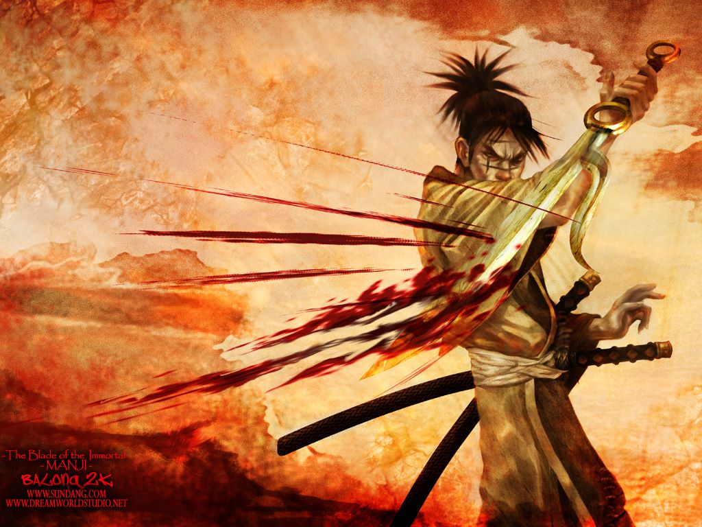 Comics Wallpaper: The Blade of the Immortal