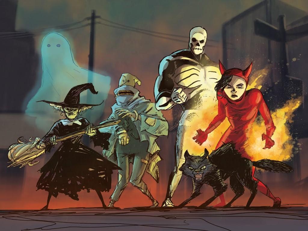 Comics Wallpaper: The Halloween Legion
