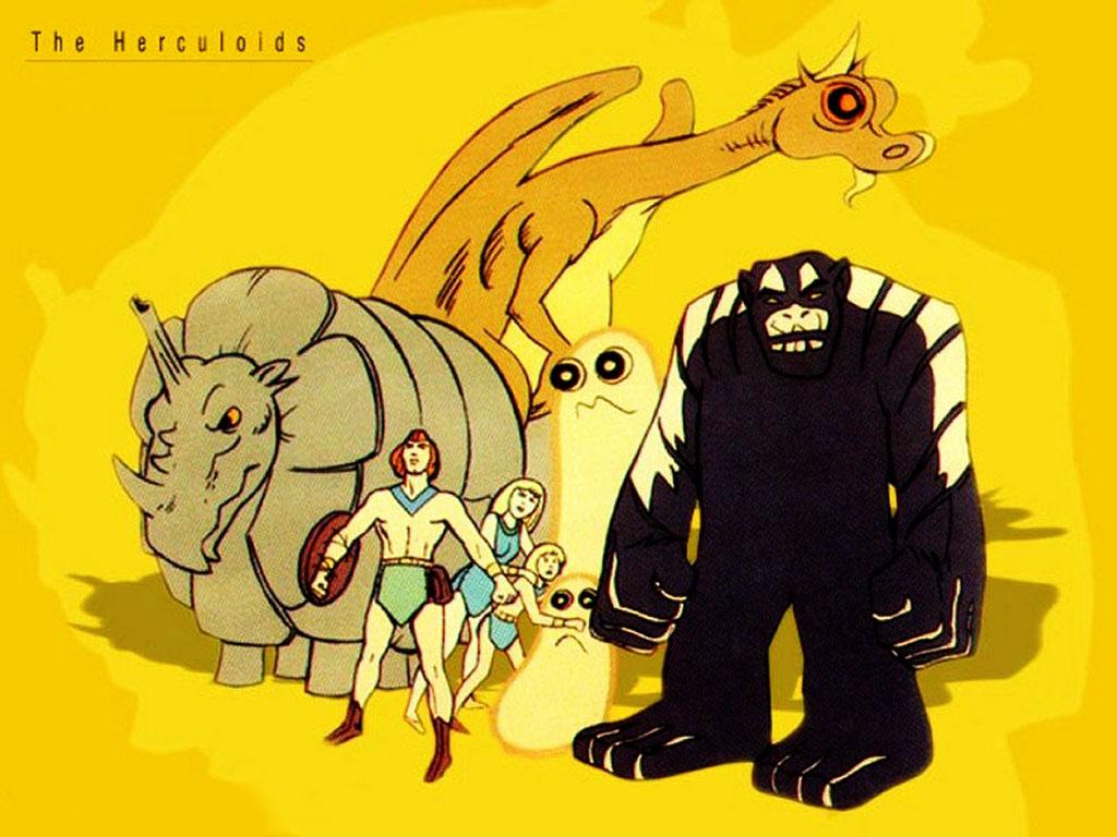 Comics Wallpaper: The Herculoids