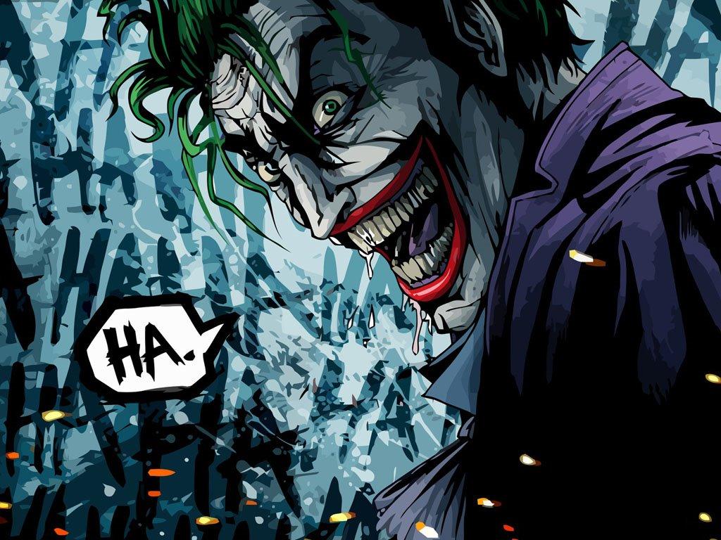 Comics Wallpaper: The Joker