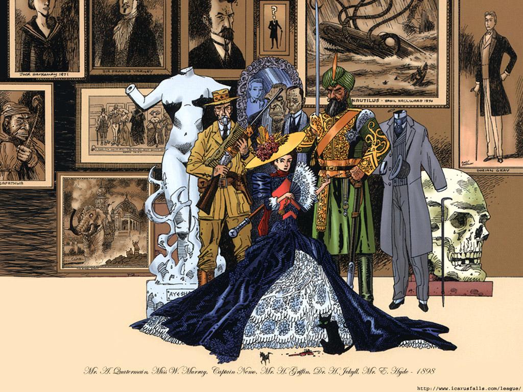 Comics Wallpaper: The League of Extraordinary Gentlemen