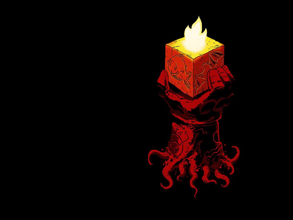 Comics Wallpaper: Hellboy - The Right Hand of Doom
