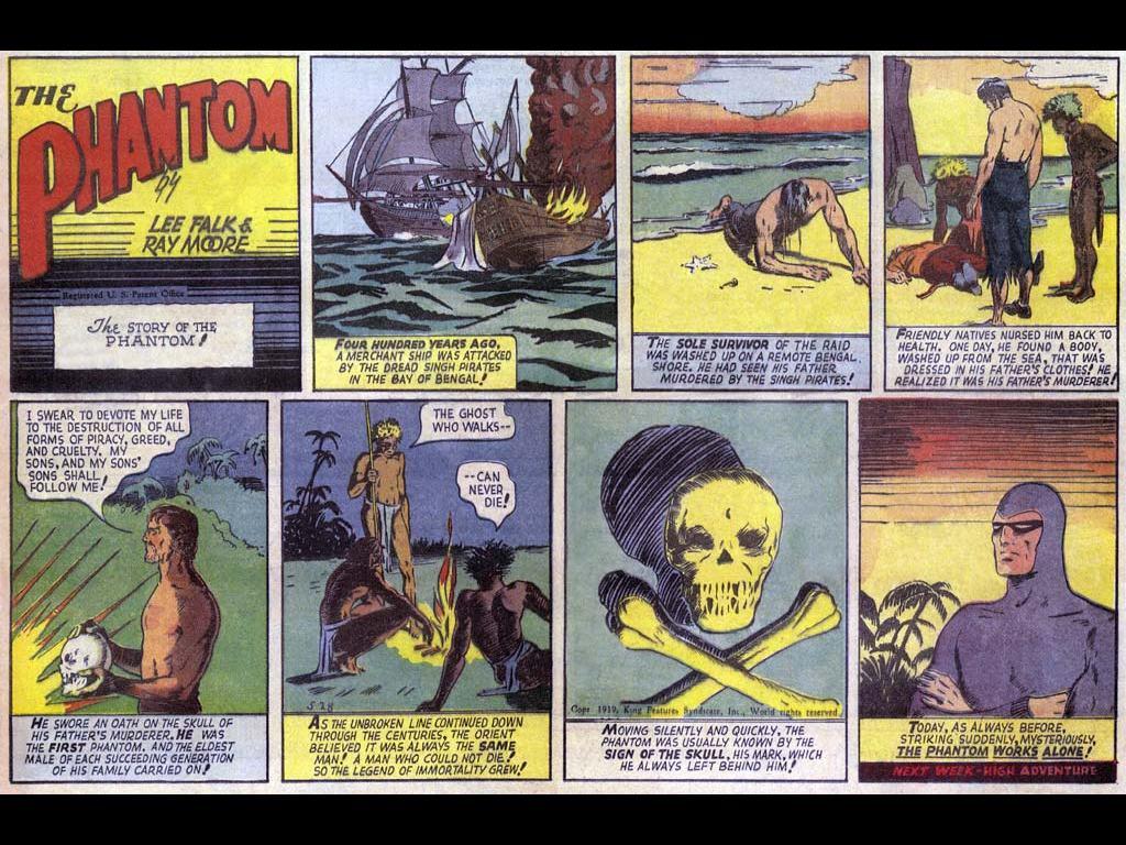 Comics Wallpaper: The Phantom - First Comics