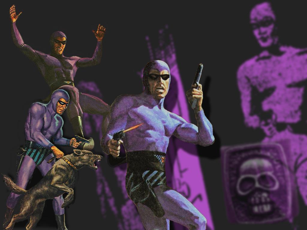 Comics Wallpaper: The Phantom - The Ghost Who Walks