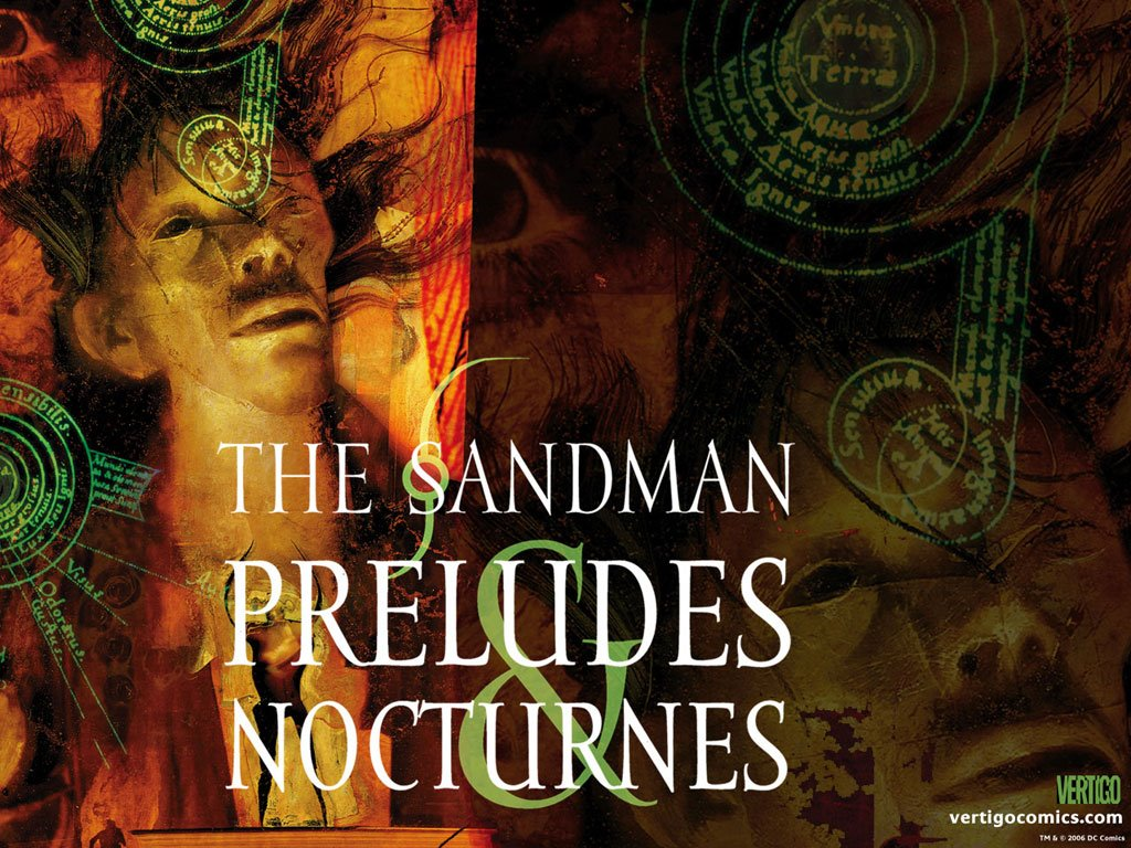 Comics Wallpaper: Sandman - Preludes and Nocturnes