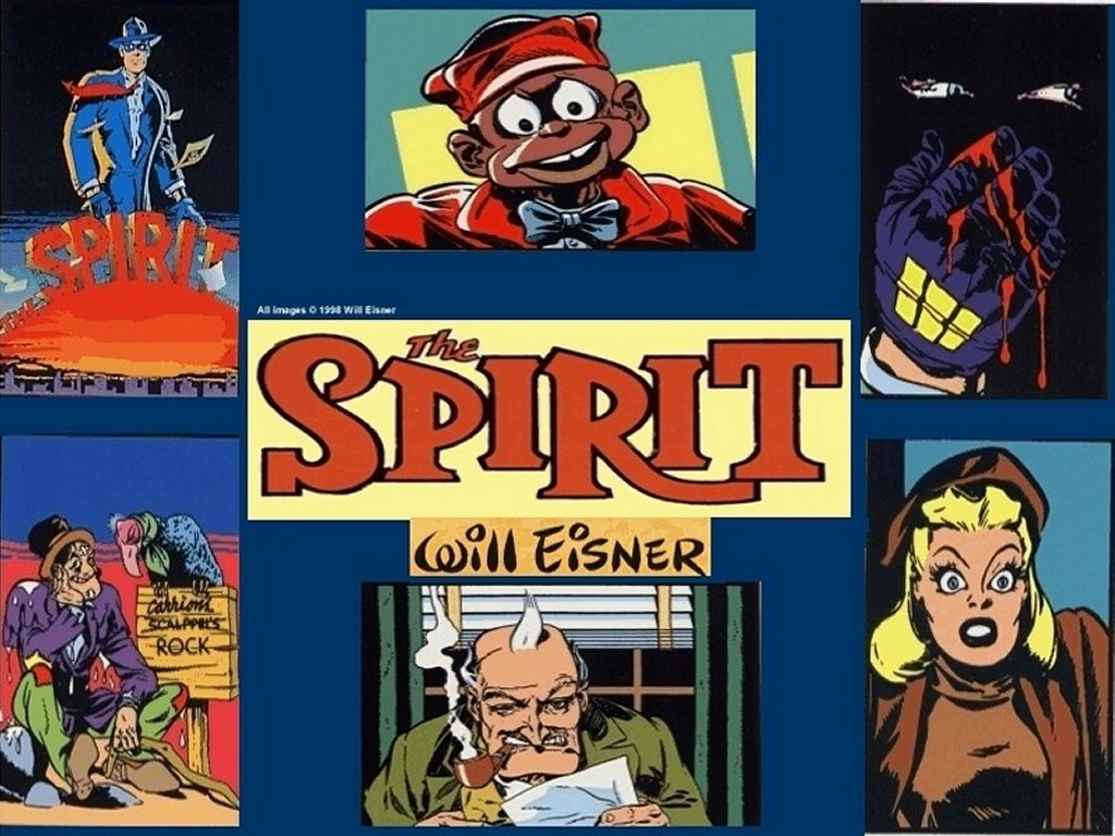 Comics Wallpaper: The Spirit