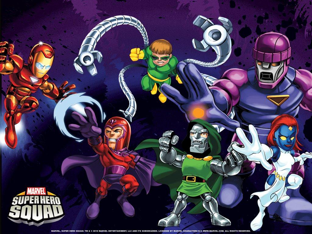 Comics Wallpaper: The Super Hero Squad Show - Villains