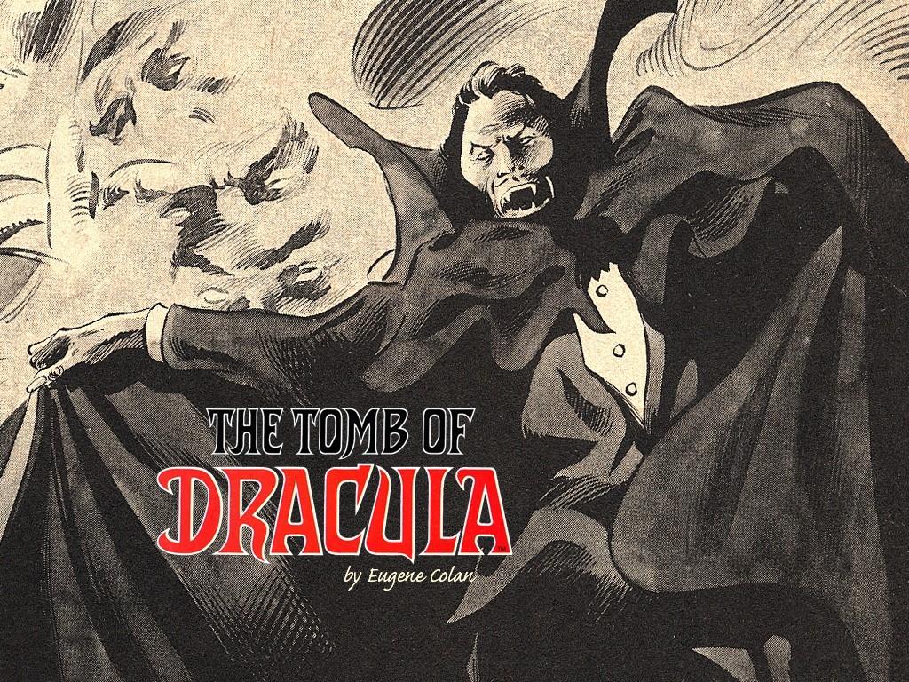 Comics Wallpaper: The Tomb of Dracula