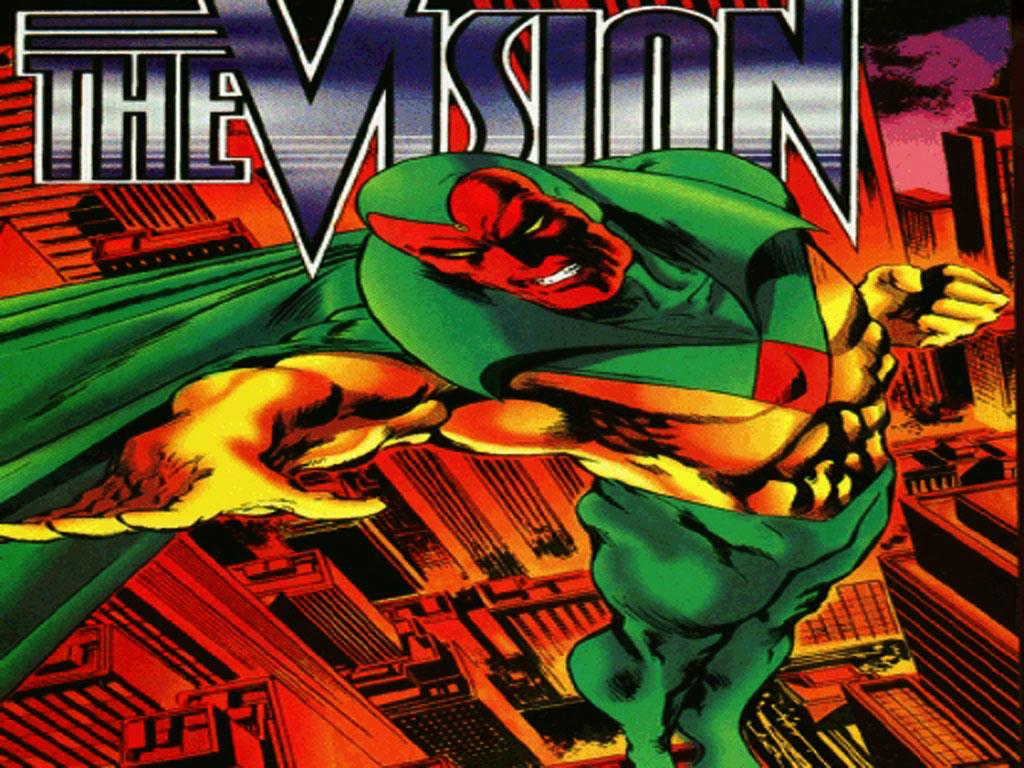 Comics Wallpaper: The Vision