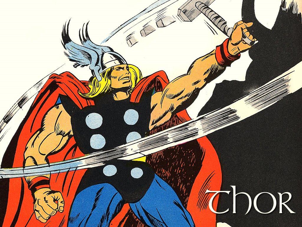 Comics Wallpaper: Thor (by Gene Colan)