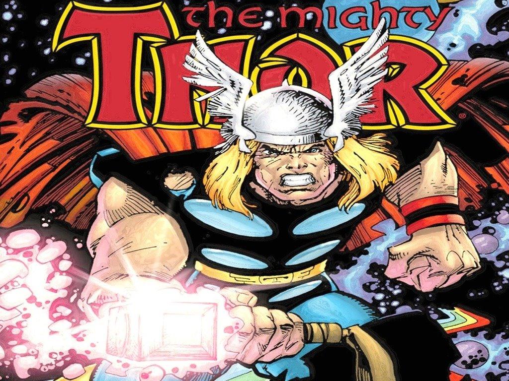 Comics Wallpaper: Thor (by Walt Simonson)