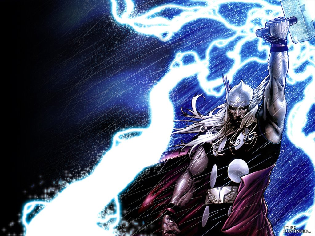 Comics Wallpaper: Thor - God of Thunder