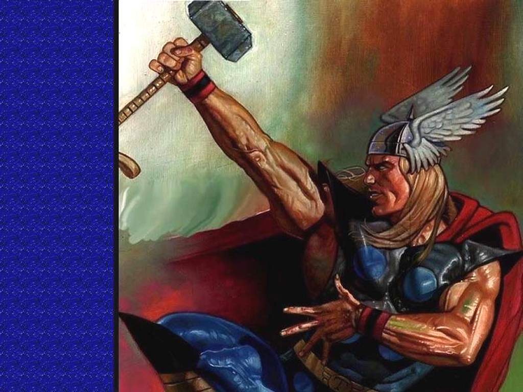 Comics Wallpaper: Thor Pose