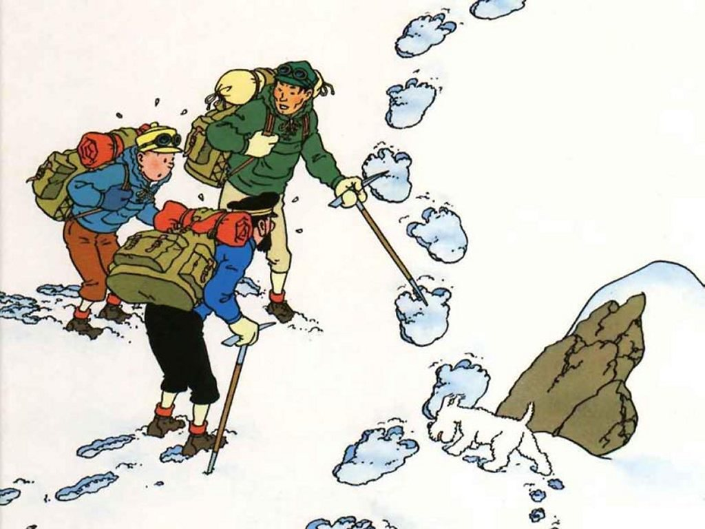 Comics Wallpaper: Tintin in Tibet