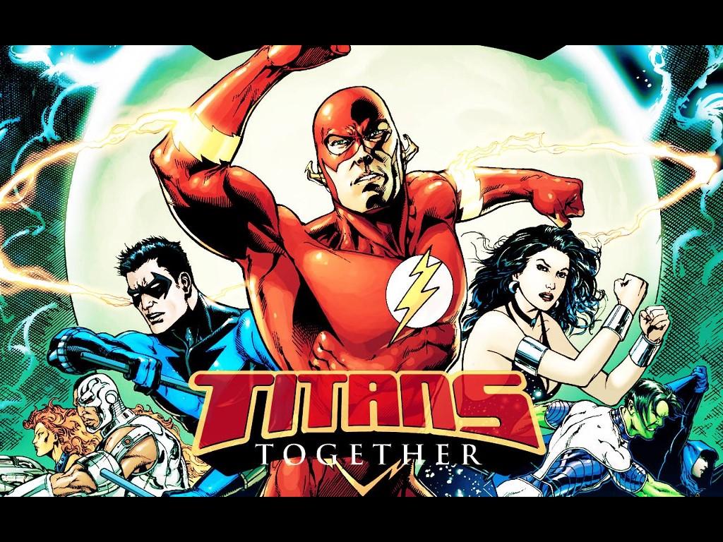Comics Wallpaper: Titans - Together