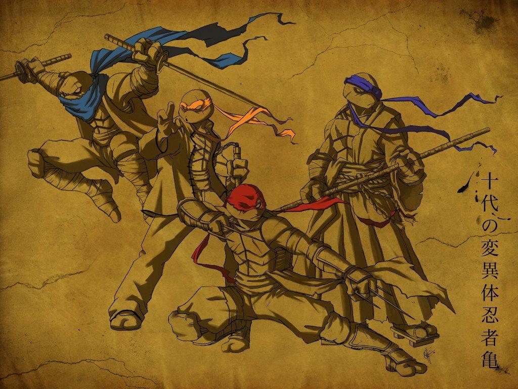 Comics Wallpaper: Teenage Mutant Ninja Turtles - Feudal Age
