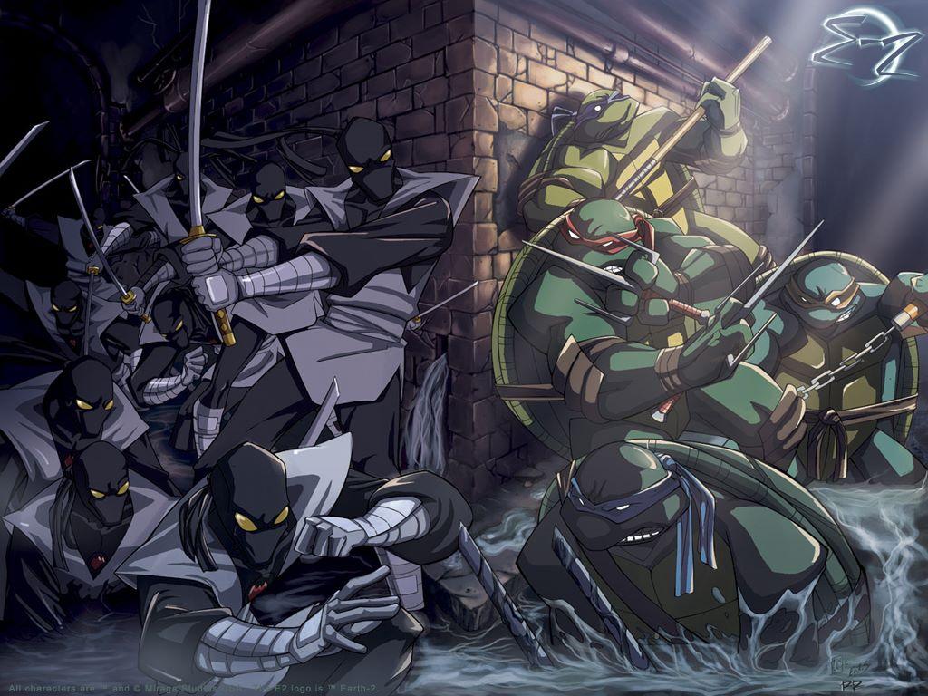 Comics Wallpaper: Teenage Mutant Ninja Turtles
