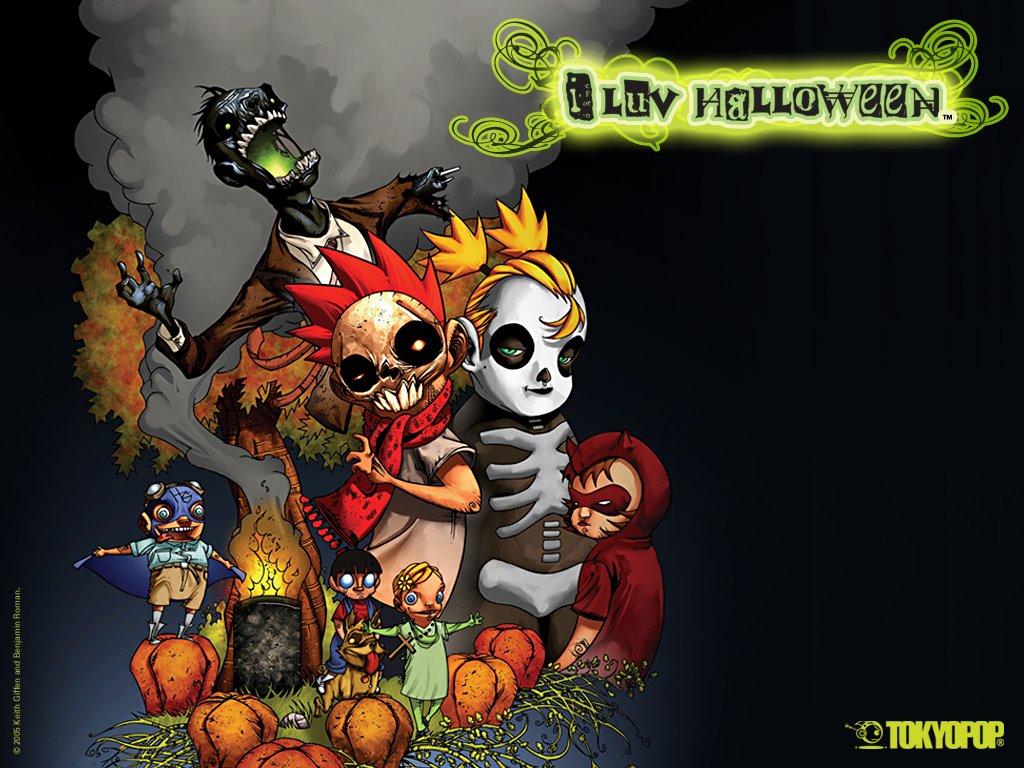 Comics Wallpaper: Tokyopop - I Luv Halloween