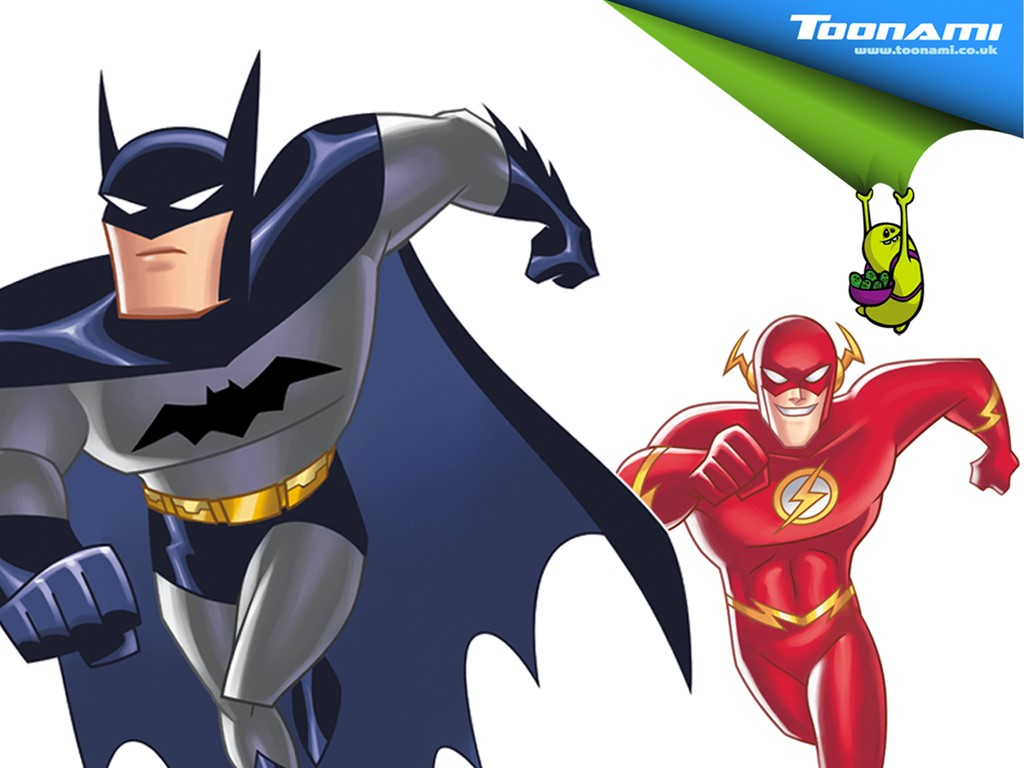 Comics Wallpaper: Flash and Batman
