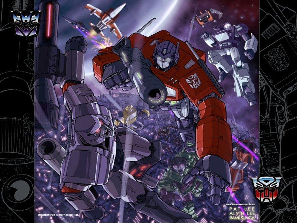 Comics Wallpaper: Transformers - Battle