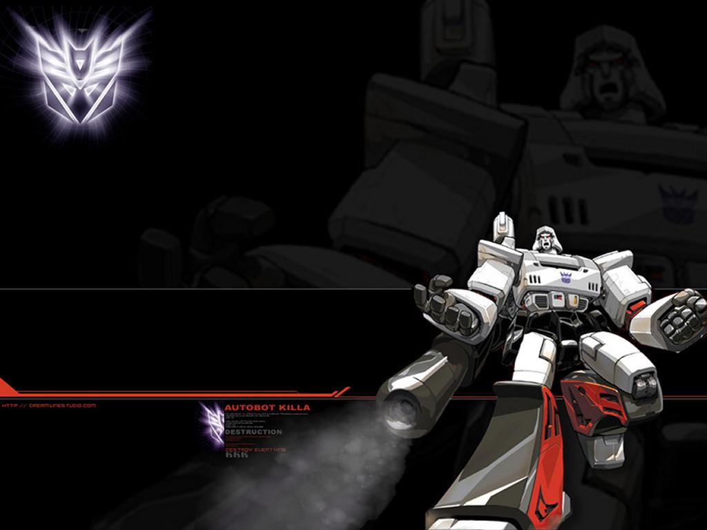 Comics Wallpaper: Transformers - Decepticon Leader