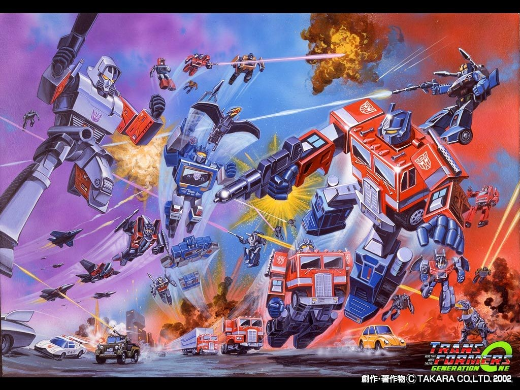 Comics Wallpaper: Transformers G1