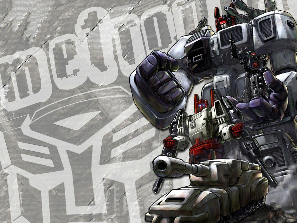 Comics Wallpaper: Transformers - Metroplex