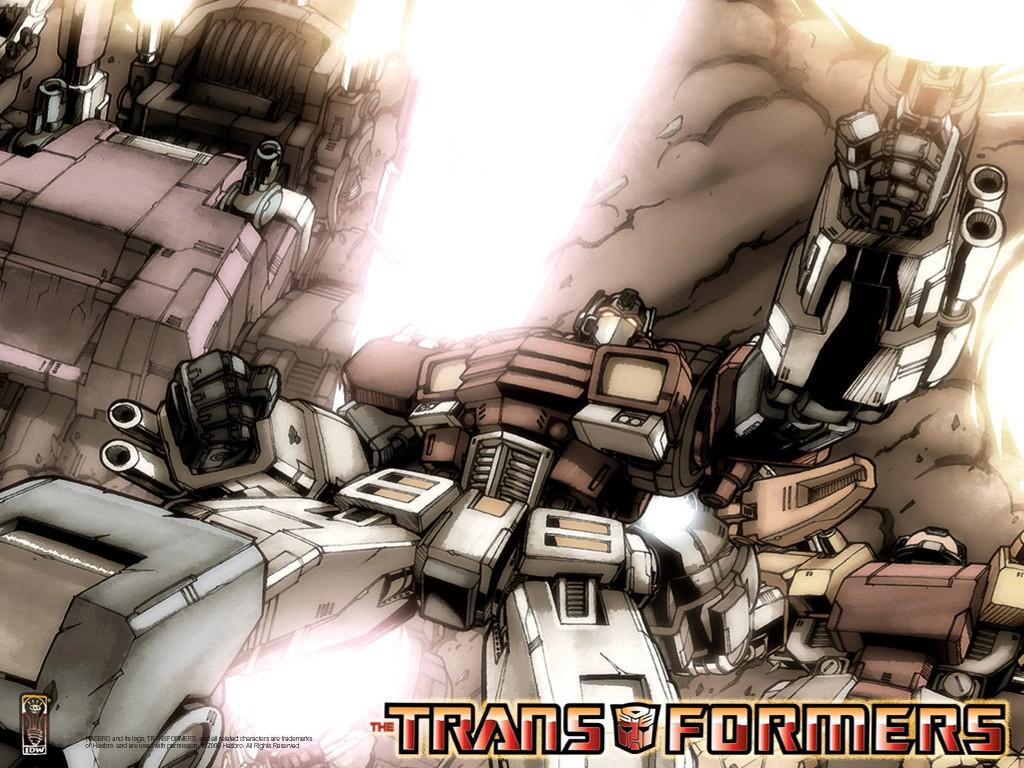 Comics Wallpaper: Transformers - Optimus Prime