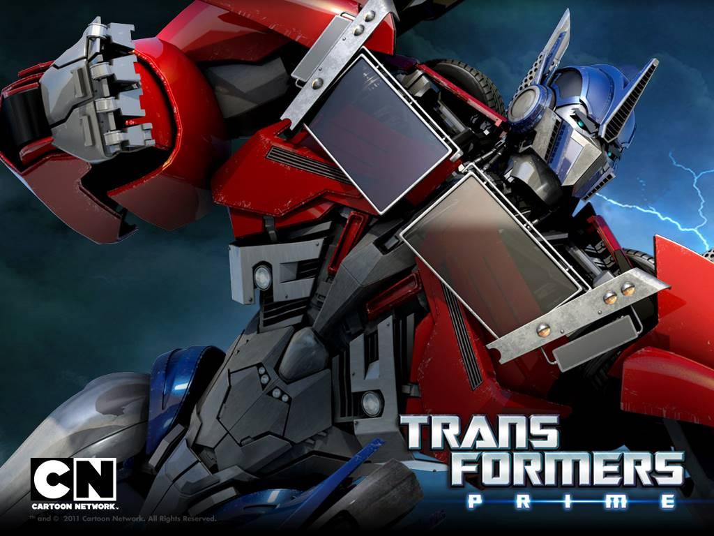 Comics Wallpaper: Transformers Prime - Optimus