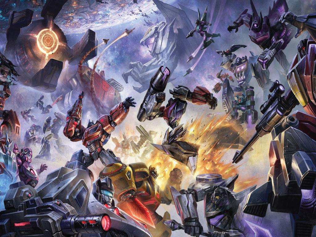 Comics Wallpaper: Transformers