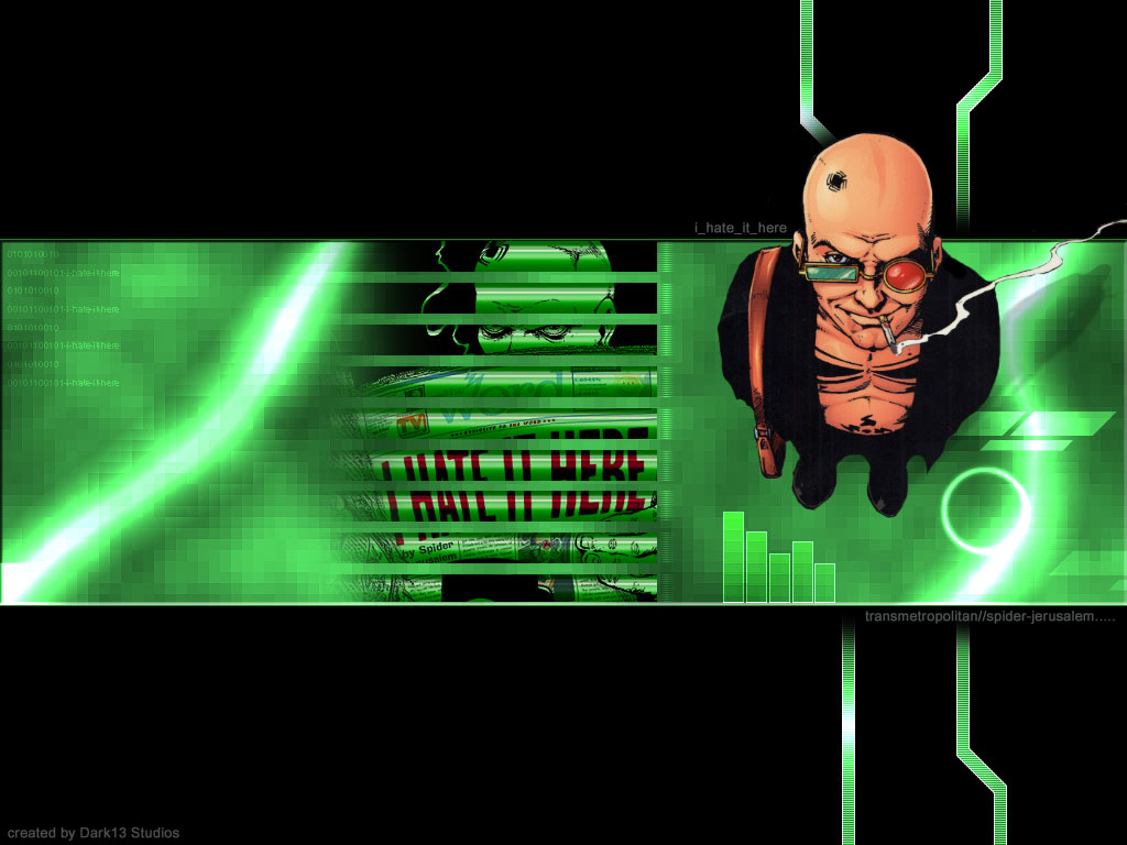 Comics Wallpaper: Transmetropolitan