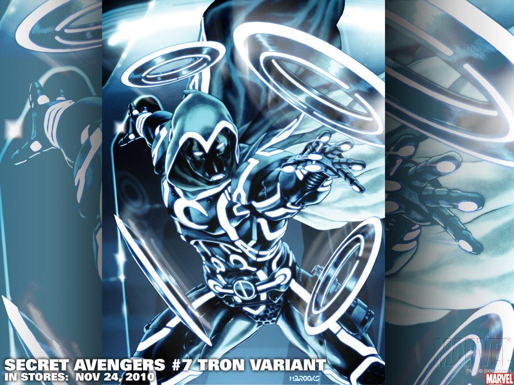 Comics Wallpaper: TRON - Moon Knight