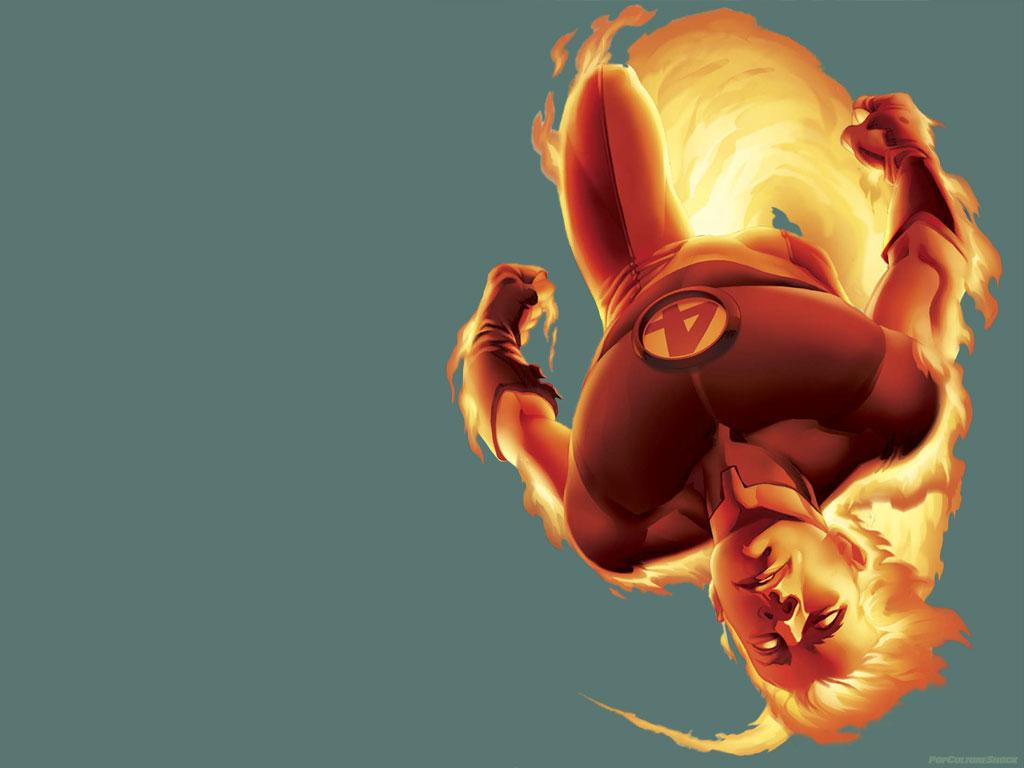 Comics Wallpaper: Ultimate Human Torch