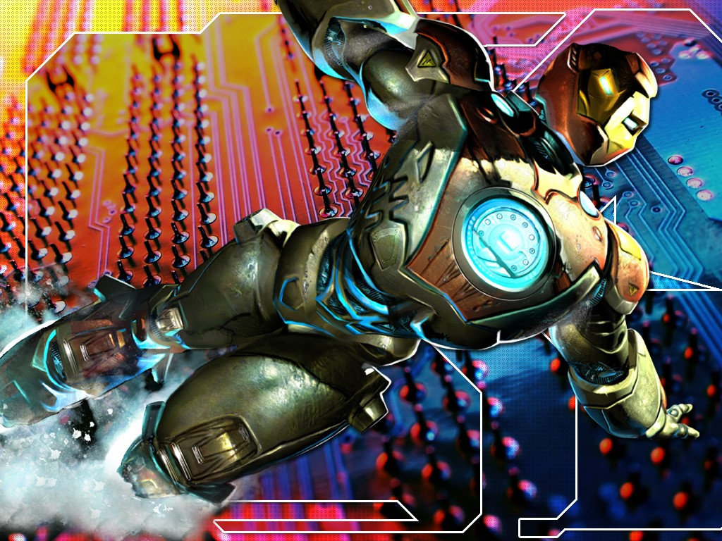 Comics Wallpaper: Ultimate Iron Man
