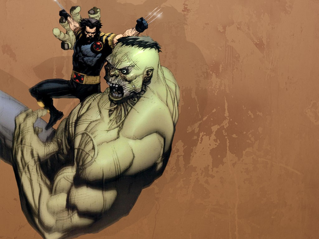 Comics Wallpaper: Ultimate Wolverine vs Ultimate Hulk
