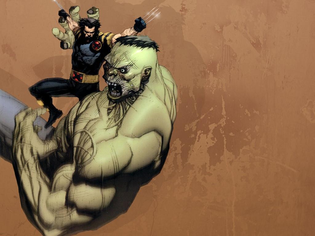 Comics Wallpaper: Ultimate Wolverine vs Ultimate Hulk