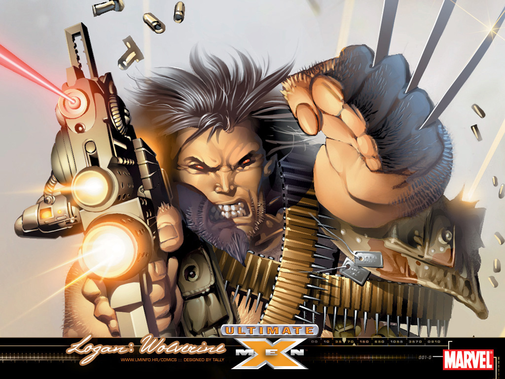 Comics Wallpaper: Ultimate Wolverine