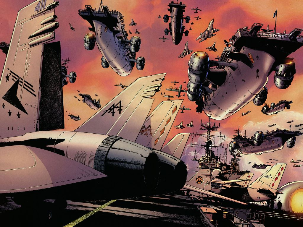 Comics Wallpaper: Ultimates - Fleet