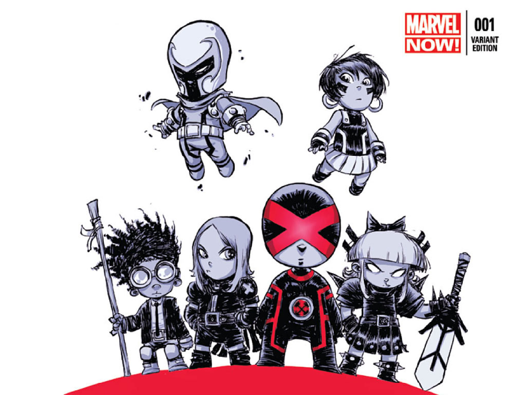 Comics Wallpaper: Uncanny X-Men #1 (Alternative Cover)