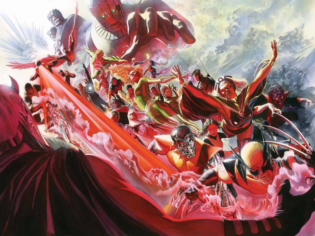 Comics Wallpaper: Uncanny X-Men #500