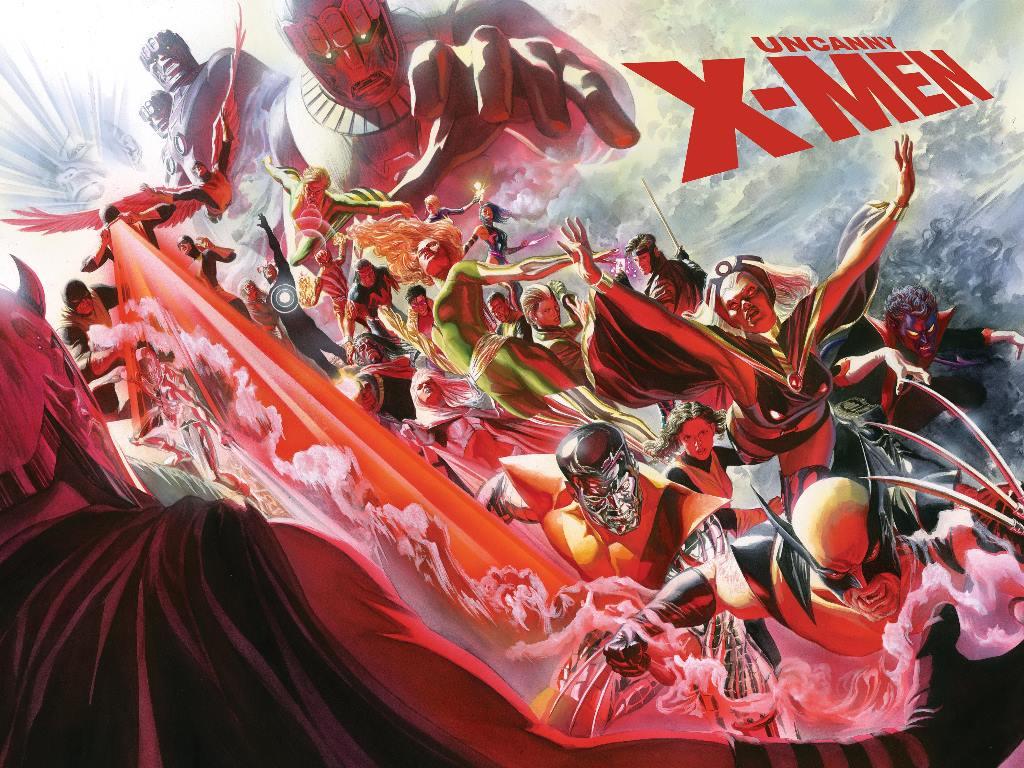 Comics Wallpaper: Uncanny X-Men (by Alex Ross)