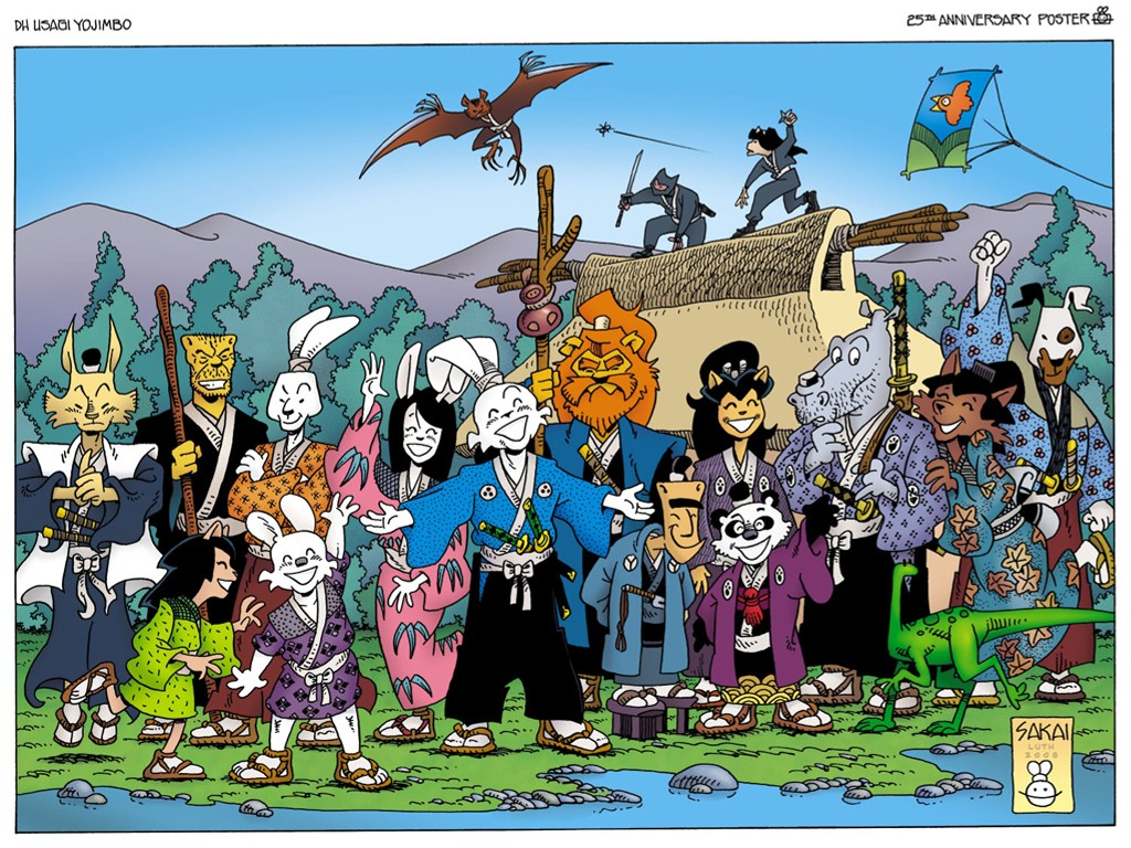 Comics Wallpaper: Usagi Yojimbo