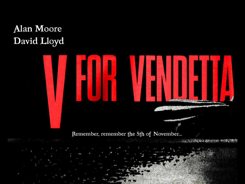 Comics Wallpaper: V for Vendetta - Remember the 5th of November
