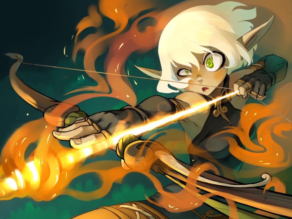 Comics Wallpaper: Wakfu - Evangelyne