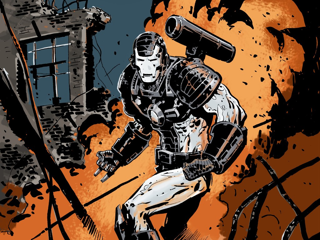 Comics Wallpaper: War Machine