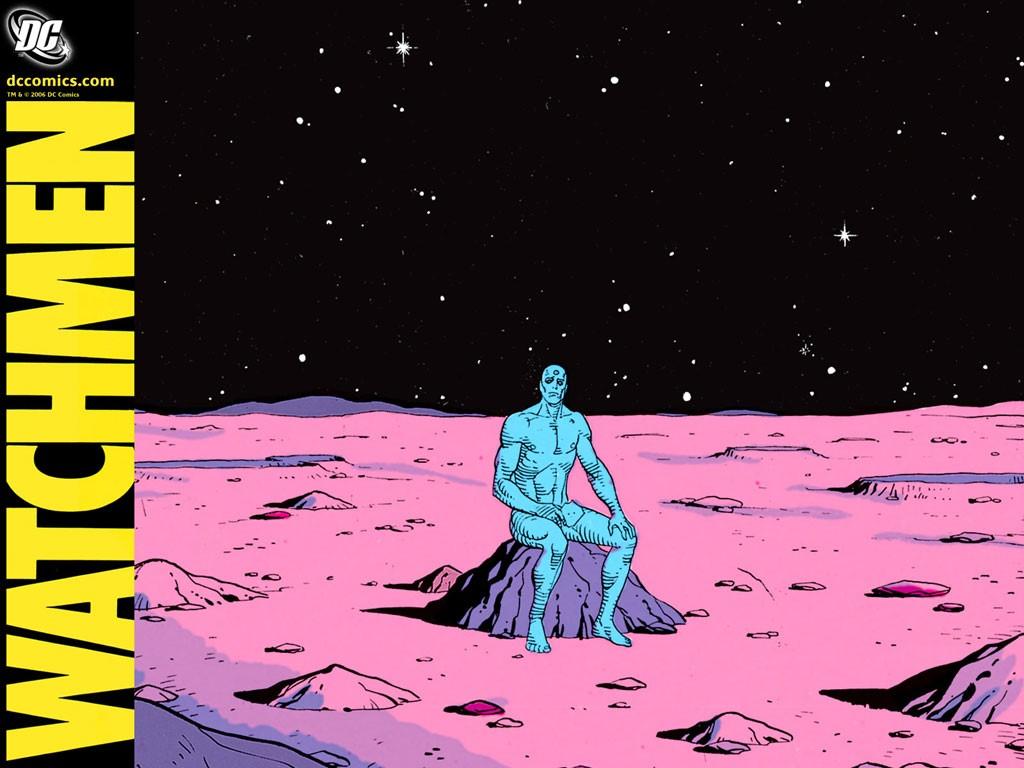 Comics Wallpaper: Watchmen - Dr. Manhattan