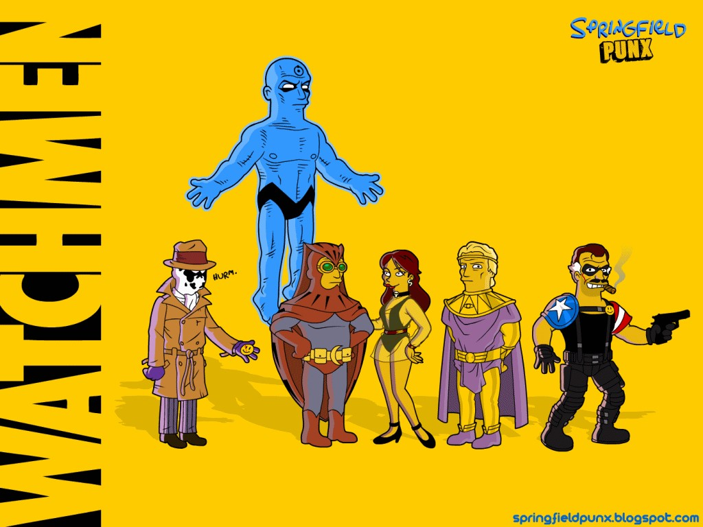 Comics Wallpaper: Watchmen - Simpsons