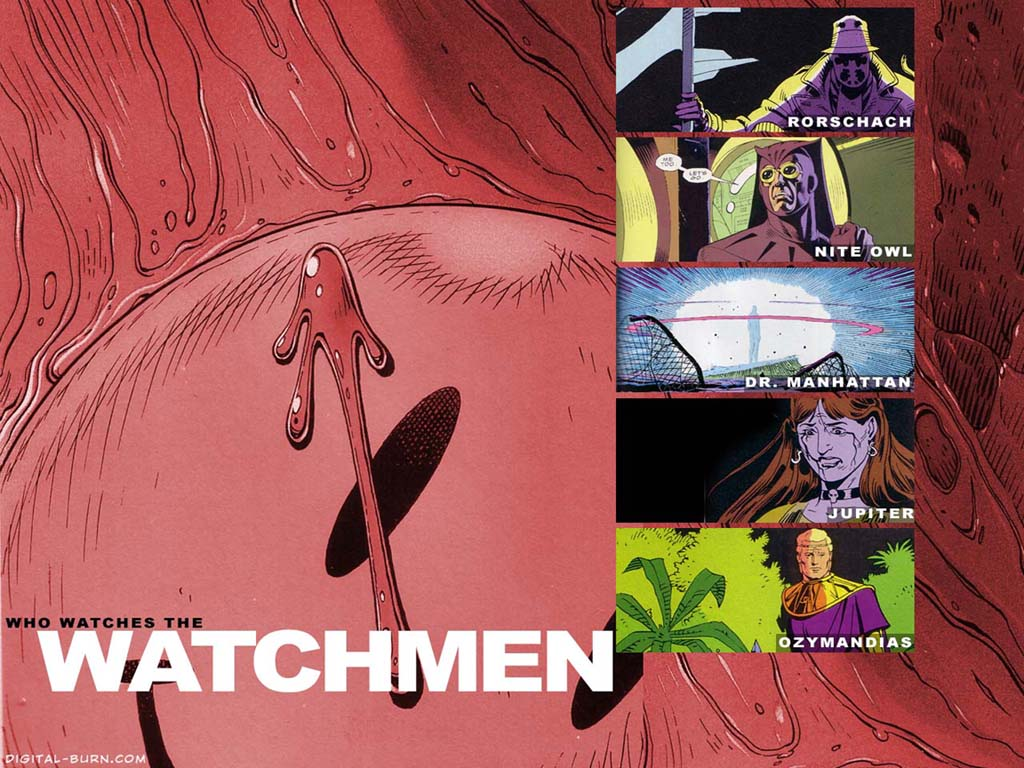 Comics Wallpaper: Watchmen
