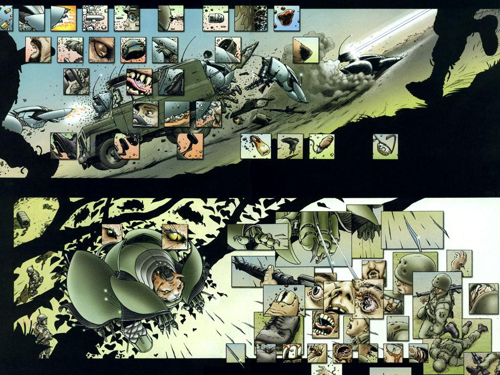 Comics Wallpaper: We3